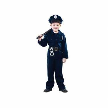 Carnaval politie pak kind