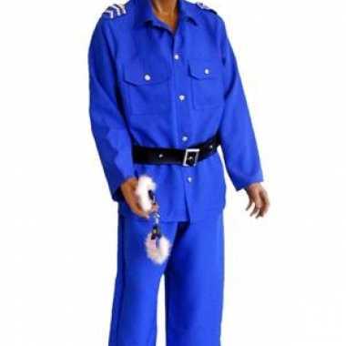 Carnaval Politieagent pak man