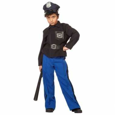 Politie carnavalspak kind