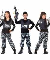 Politie swat verkleed pak pak kind